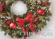Magnificently Tied Christmas Cards